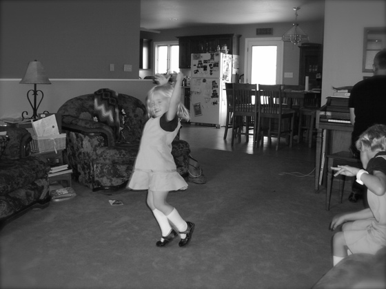 Dancing before school